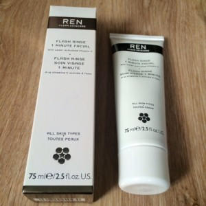 REN 1 minute facial